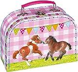 My Little Pony-Gioca in valigia per cavallo gli amici animali della fattoria cartone laminato con un nome tag all' interno. Dimensioni (Altezza x Larghezza x Profondità): circa 20x 14x 18cm 049218