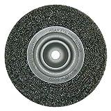 Dronco, Rundbürste D 150 x L 32 x 0,3mm gewellter Stahldraht , für Schleifbock , Drahtbürste