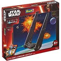 REVELL Level 2 Revell Kylo Ren's Command Shuttle Snap Kit - Forza Snap