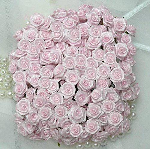 12 Bund = 144 St. Diorröschen Satinröschen Rosen rosa