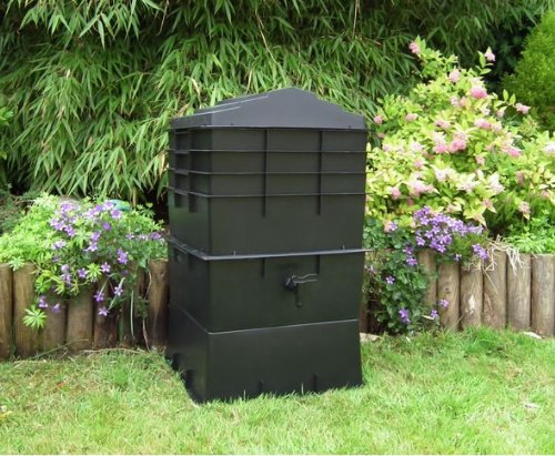 4 Tray (100 Litre) Wormcity Wormery Housing Black (Note NO Worms, Food, Coir Will Be Sent With This Product)