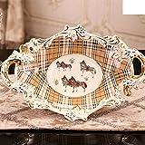 Highquality Europäische Keramikschalen heimische Wohnzimmer Couchtisch Dekoration zog Nach der Hochzeit geschenkt