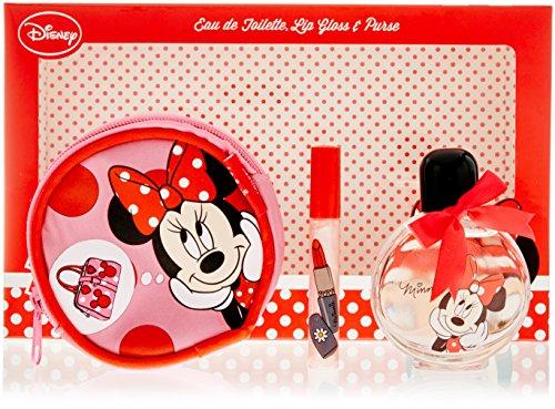 (Disney Minnie Mouse Duft Geschenkset - Eau de Toilette 50 ml, Lipgloss 5 ml, Geldbörse, 1er Pack (1 x 0.24 kg))