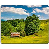 Msd Natural rubber Gaming Mousepad Image ID: 30369637Old House in un campo in the Potomac (Highland House)