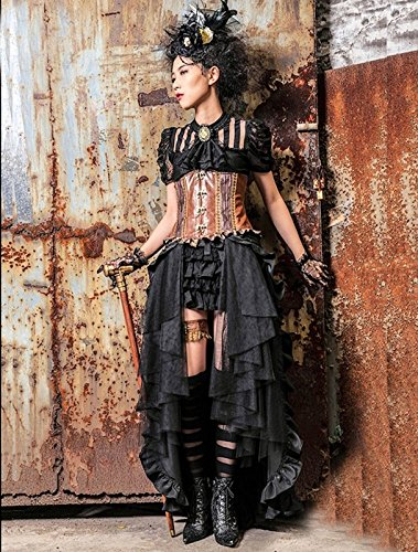 Dark Dreams Gothic Mittelalter LARP Rock Black Mamba - 6