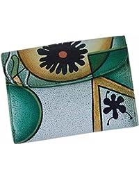 Stefano Stefano - Cartera para mujer  Mujer Verde verde 12,5x10x3,5 cm