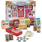 Juego Juguete Caja Registradora Con Luz & Sonido Lector Alimentos De Compras Divertido Dinero Navidad