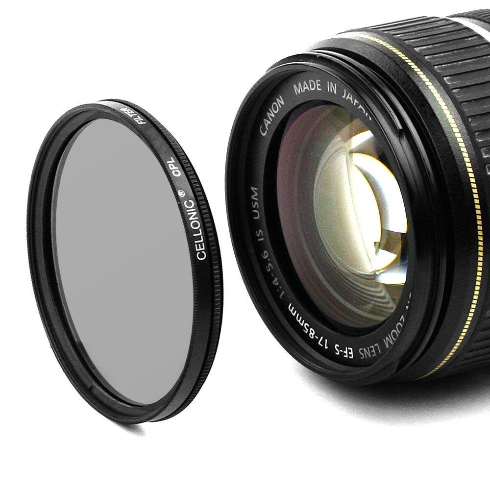 CPL Filtro per Tamron SP AF 180mm F3.5 Di LD IF Macro 1:1 (72mm)