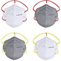 Nasher Miles N95 5 layer Color Face Mask, Reusable, Washable, Head Strapped, SITRA/CE/ISO Approved, Anti Pollution, Anti…