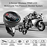 favoto Solar Wireless TPMS Tire Pressure Monitoring System with LCD Screen