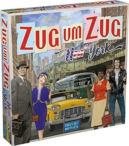 Zug um Zug - New York - Reisespiel | DEUTSCH | Ableger vom Spiel des Jahres 2004