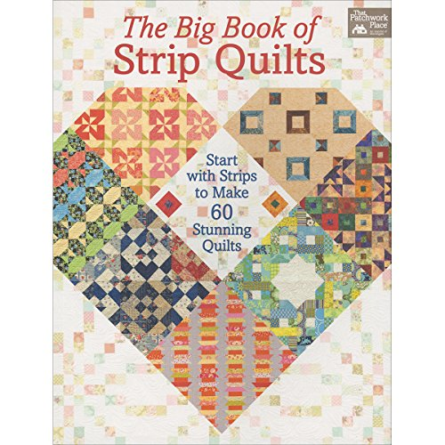 The Big Book of Strip Quilts: Start with Strips to Make Stunning Quilts (Englisch Martingal)