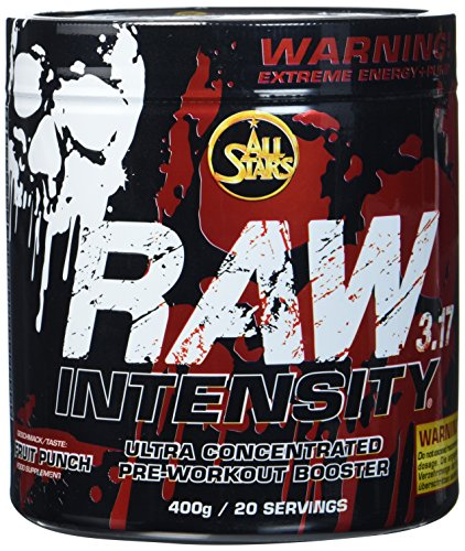 Ultra-konzentrierte, Stoff (All Stars Raw Intensity 3.17, Fruit Punch, 1er Pack (1 x 400 g))