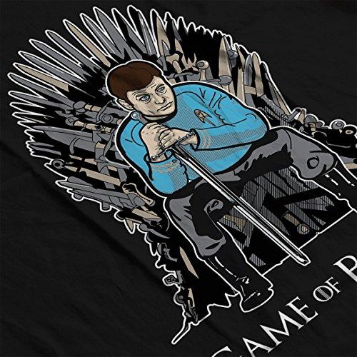 Game Of Thrones Star Trek Bones Women's Hooded Sweatshirt Black