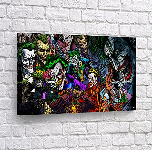 1ae82bc466 Batman The Killing Joke - Different Kind of Joker in One Comics Old School  Canvas Print