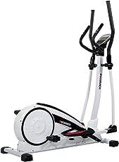 Hammer Crosstrainer Crosslife XTR - Cardiotraining für Zuhause - 12 Berg- und Talprofile - 4 Herzprogramme - Push & Turn-Drehknopf - Heimtrainer - Ergometer - 18 kg Schwungmasse