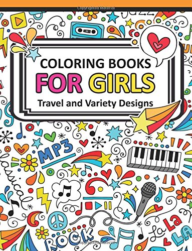 Coloring Book for Girls Doodle Cutes: The Really Best Relaxing Colouring Book For Girls 2017 (Cute, Animal, Dog, Cat, Elephant, Rabbit, Owls, Bears, Kids Coloring Books Ages 2-4, 4-8, 9-12): Volume 3