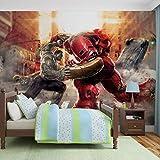 Marvel Kämpfende Verbündete - Forwall - Fototapete - Tapete - Fotomural - Mural Wandbild - (3365WM) - XXL - 312cm x 219cm - VLIES (EasyInstall) - 3 Pieces