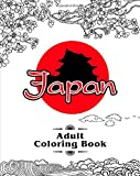 Japan Adult Coloring Book: An Adult Coloring Book with Japanese Cultural Designs, Beautiful Asian Women, Floral Kimono Dresses, and Relaxing Nature Scenes