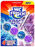 WC Frisch Kraft-Aktiv Duftspüler Lavendel, WC Frische, 5er Pack (5 x 1 Stück)