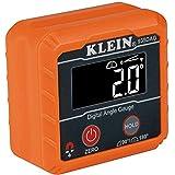 مقياس زاوية ومستوى إلكتروني رقمي 935DAG من كلاين تولز ، قياس 0 - 90 و0 - 180 درجة، قياس وتحديد الزوايا