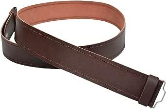 Brown Leather Kilt Belt Adjustable size for Kilts Highland Plain