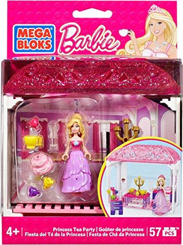 Mega Bloks Princess Barbie Tea Time Building Set