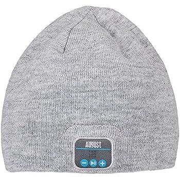 864f0c8431d1 August EPA20 - Bonnet Bluetooth Stéréo - Bonnet Thermique Bluetooth avec  casque Stéréo intégré, Microphone, Kit Main-Libre et Batterie rechargeable  ...
