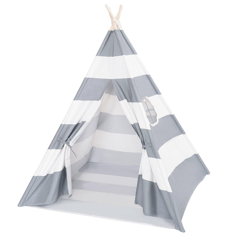 Decestar Kinder Tipi Play Tent Graue Indianerzelt Spielzelt Tipi ...