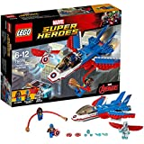 LEGO - 76076 - Marvel Super Heroes - La Poursuite en Avion de Captain America