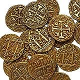 REPLICA GOLD COLOURED DOUBLON SPANISH ARMADA COIN PIRATES TREASURE G70 ONE COIN PER ORDER