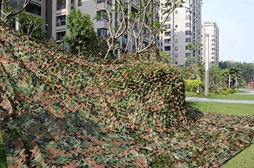 QFWMCW Tarnnetze Tarnnetz Camo Net Camouflage Net Kampierende Militärjagd des Waldtarnungsnetzes, Welche Die Blinden Leute Aufpassen Versteckte Parteidekoration Schießt