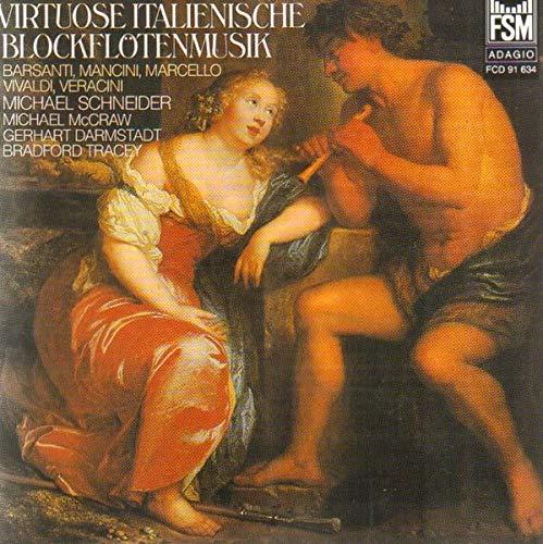 Virtuose italienische Blockflötenmusik (Mancini Francesco)