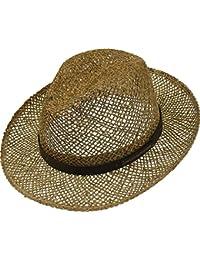 Sehr leichter Strohhut aus Seegras Bogartform