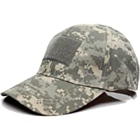 QMFIVE Tactical Baseball cap, Multicolor Camouflage Sunscreen Chapeau Hat for Airsoft Paintball Climb Camping Hunting…