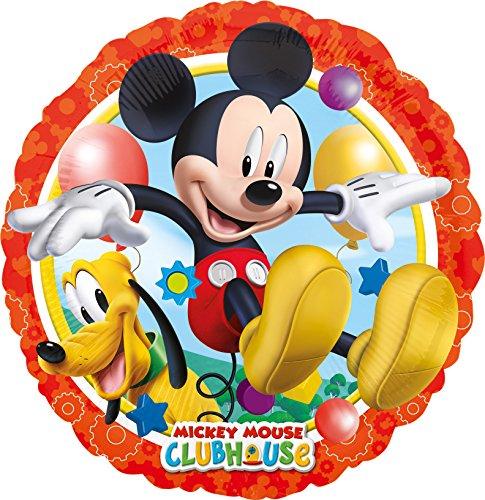 Folienballon * MICKEY MOUSE CLUBHOUSE * für Kindergeburtstag oder Motto-Party // Folien Ballon Party Helium Deko Ballongas Motto Kinder Geburtstag Disney Micky Maus Pluto (Mickey Maus Motto-partys)