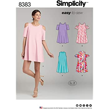 61b7e18f5d21 Simplicity Pattern 8337 A (XXS-XS-S-M-L-XL-XXL) Misses  Knit Tops ...