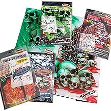 "'perfecta aerógrafo Plantillas Skulls Facilidad: Field of skulls Vol. 01(""The hateful 12), Single de/Quick Step EZ skullmaker artshield®, Komplettsatz VOL. 01 bis 04"