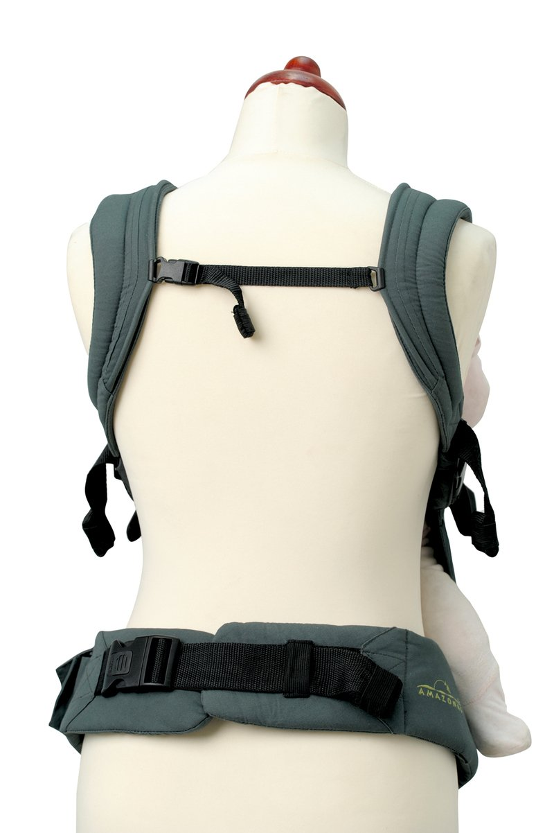 Amazonas Baby Smart Carrier - Earth AMAZONAS Waist belt length: 78 - 145 cm Flexible bridge: approx. 26 - 33 cm Load capacity: max. 3.5 - 15 kg 9