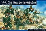 Warlord BR-04 - Black Powder - Napoleonic British 95th Rifles - Chosen Men - 28mm Miniatures x14