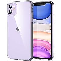 ESR Coque Compatible avec iPhone 11, Bumper Housse Etui de Protection Transparent en Silicone TPU Souple Ultra Fin…