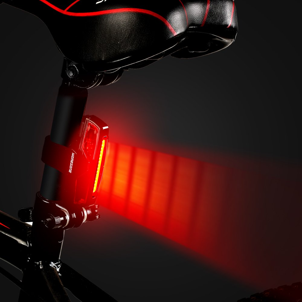 FANALE POSTERIORE LUCE PER BICI A LED PER BICICLETTA RED LED 30 LUCI USB RICARIC