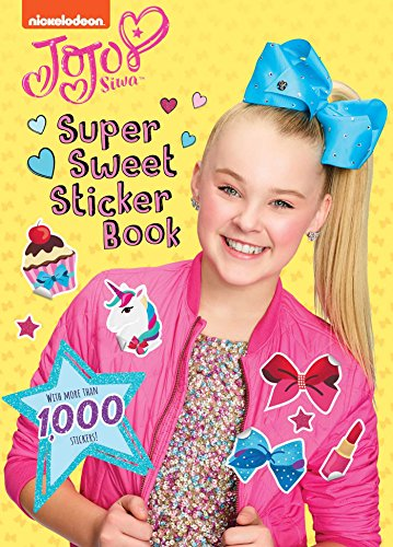 Super Sweet Sticker Book (Jojo Siwa) por Buzzpop