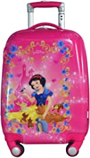 """Texas USA Polycarbonate 22"""" Pink / Printed Hard Sided Children's Luggage"""