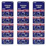 Toshiba LR41 AG3 1,5 V Alkaline Batterie 3 x (10) Pack = 30 Made in Japan