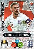 ENGLAND PANINI ADRENALYN XL England Adrenalyn XL 2018–Jordan Henderson Limited Edition Trading Card