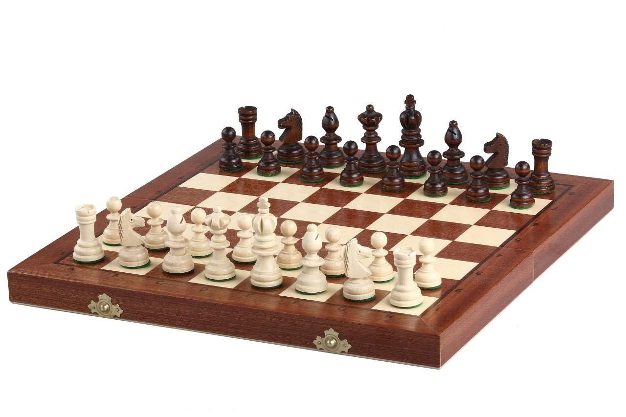 KADAX-hochwertiges-Schachspiel-mit-Figuren-35-x-35-cm-Schach-aus-Holz-fr-Kinder-Anfnger-kleines-Schachbrett-Faltbare-Schachkassette-fr-Haus-Reise-Schachset-tragbar