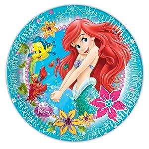 Disney Princess - Cubertería para Fiestas La Sirenita (Procos 71521)