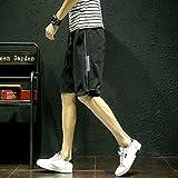 Tipo: pantaloncini  Tipo di vita: Medio  Tipo di adattamento: Destra  Lunghezza: Lunghezza del ginocchio  Pantalone: Normale  Stile: allentato  Tipo di modello: Solido  Decorazione: Motivo  Sesso: MenItem  Tipo: Pantaloncini  Taglia (cm)  M: ...