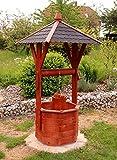 Fontana di legno, Fontana ornamentale, Fontane giardino trattata di Piccolo fino Maxi - Maxi
